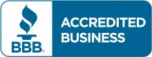 BBB accredited business certification logo