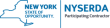 Nyserda logo, an energy efficiency program in New York used by Healthy Home Energy and Consulting