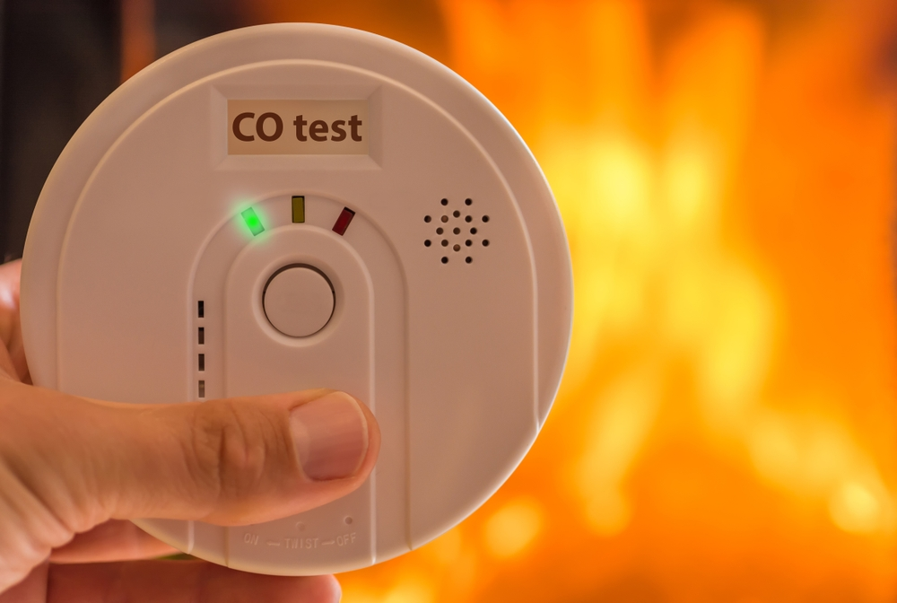 combustion testing and carbon monoxide (CO) alarm