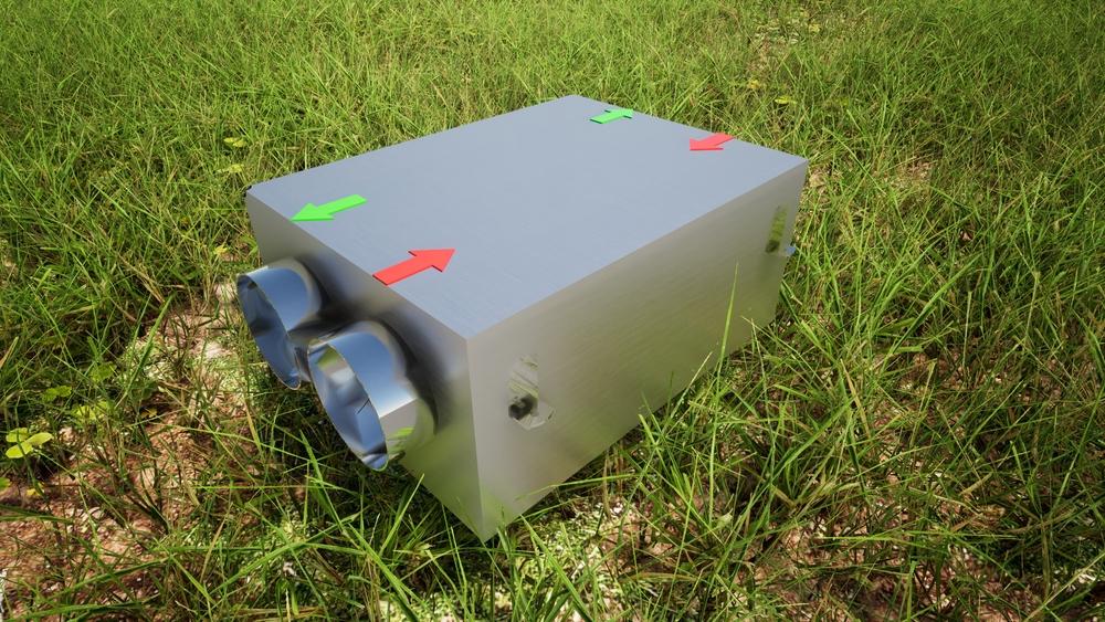 HRV ERV machine system
