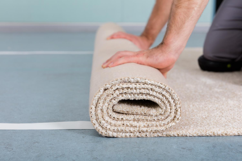 carpet installation may offgas vocs