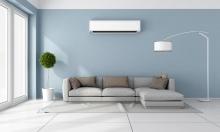 heat pump, mini split inside home