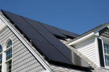 Healthy Home Energy and Consulting, solar panels on roof of home, NY