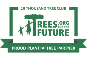 10 thousand tree club, proud plant-a-tree partner