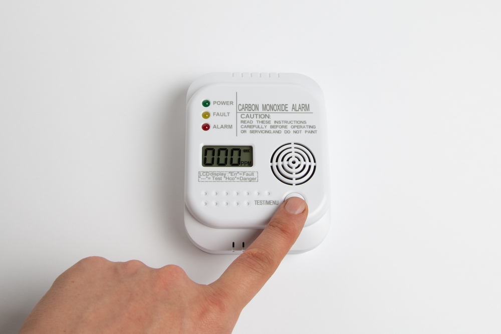 CO2 detector inside home